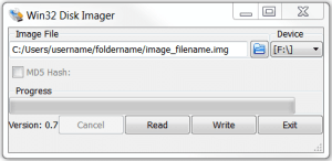 Win32DiskImager
