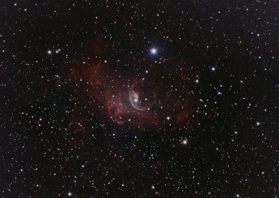 astrophotography gallery Bubble Nebula