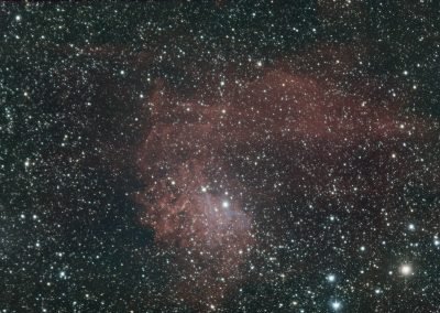 astrophotography gallery Flaming Star